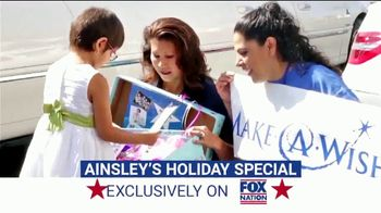 Fox Nation TV Spot, 'Ainsley's Holiday Special' Featuring Ainsley Earhardt