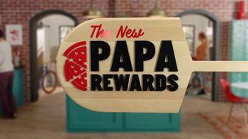 Papa Rewards TV Spot, 'Earn Points Faster: Free Cheesesticks' - Thumbnail 1