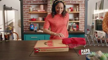Papa Rewards TV Spot, 'Earn Points Faster: Free Cheesesticks'