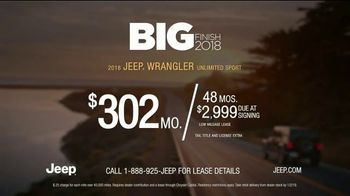 Jeep Big Finish Event TV Spot, 'Warmed Up' [T2] - Thumbnail 9