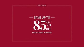 JoS. A. Bank Lowest Prices of the Year Event TV Spot, 'Save Up to 85%' - Thumbnail 2