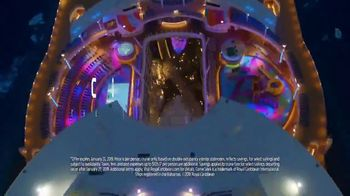 Royal Caribbean Cruise Lines TV Spot, 'Start Wandering: 60 Percent Off' Song by Mapei - Thumbnail 8