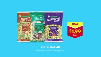 ALDI TV Spot, 'Tricks: Chopped Salad Kits' - Thumbnail 10