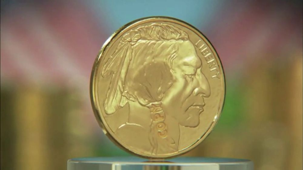 National Collector's Mint 2019 Gold Buffalo Tribute Proof TV Commercial, 'Look Closely'