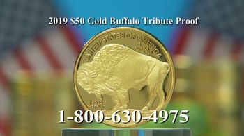National Collector's Mint 2019 Gold Buffalo Tribute Proof TV Spot, 'Look Closely' - Thumbnail 5