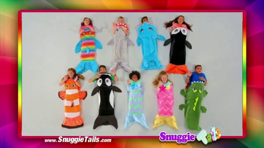 Snuggie Tails TV Commercial, 'Coloring Book'