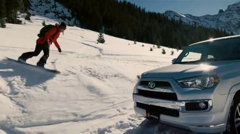 Toyota TV Spot, 'Snow Race' Featuring Elena Hight, Louie Vito [T1] - 79 commercial airings