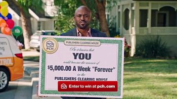 Publishers Clearing House Forever Prize TV Spot, 'Serious' Featuring Wayne Brady