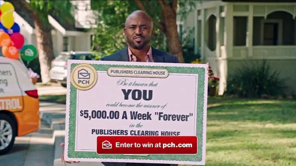 Publishers Clearing House Forever Prize TV Commercial, 'Serious' Featuring  Wayne Brady - Video