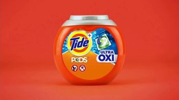 Tide PODS Ultra Oxi TV Spot, 'Hard Work Builds Character' - Thumbnail 10