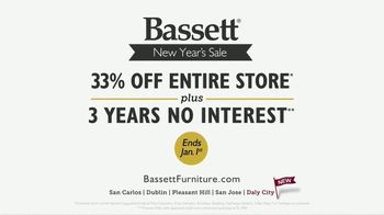 Bassett New Year's Sale TV Spot, '33 Percent Off' - Thumbnail 10