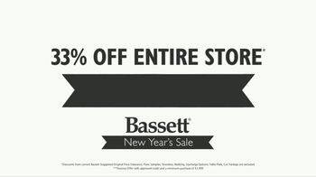 Bassett New Year's Sale TV Spot, '33 Percent Off' - Thumbnail 4