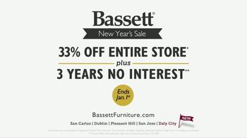 Bassett New Year's Sale TV Spot, '33 Percent Off' - Thumbnail 9