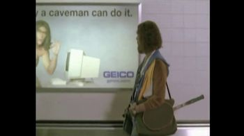 GEICO TV Spot, 'The Best of GEICO: Caveman Airport' Song by Röyksopp - Thumbnail 5