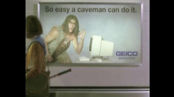 GEICO TV Spot, 'The Best of GEICO: Caveman Airport' Song by Röyksopp - Thumbnail 6