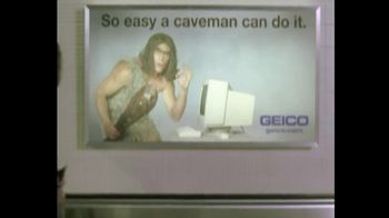 GEICO TV Spot, 'The Best of GEICO: Caveman Airport' Song by Röyksopp - Thumbnail 7