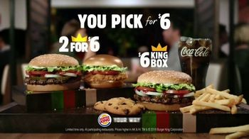 Burger King TV Spot, 'Make Your Best Pick' - Thumbnail 10