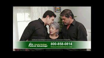 Lincoln Heritage Funeral Advantage TV Spot, 'Pena' [Spanish] - Thumbnail 9