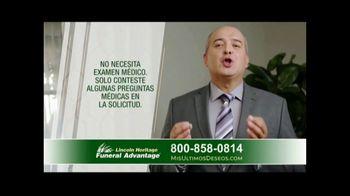 Lincoln Heritage Funeral Advantage TV Spot, 'Pena' [Spanish] - Thumbnail 8