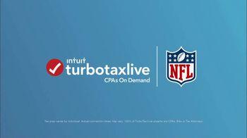 TurboTax Live TV Spot, 'NFLPA: Expert Review of the Week' - Thumbnail 1
