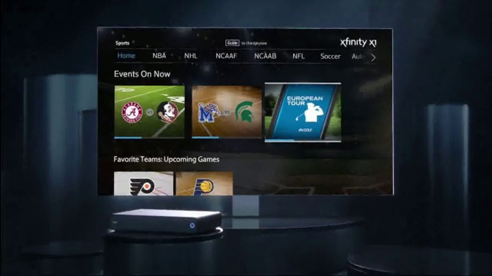 XFINITY X1 TV Commercial, 'Experience Sports' - Video