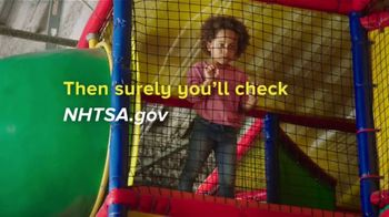 NHTSA TV Spot, \'The Right Seat: If You Love Them Enough: PlayPlace\'