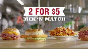 Arby's 2 for $5 Mix 'n Match TV Spot, 'Anxiety' Featuring H. Jon Benjamin, Song by YOGI - Thumbnail 6