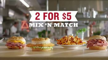 Arby's 2 for $5 Mix 'n Match TV Spot, 'Anxiety' Featuring H. Jon Benjamin, Song by YOGI - Thumbnail 7