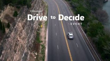 Volkswagen Drive to Decide Event TV Spot, 'Drive You' [T2] - Thumbnail 6