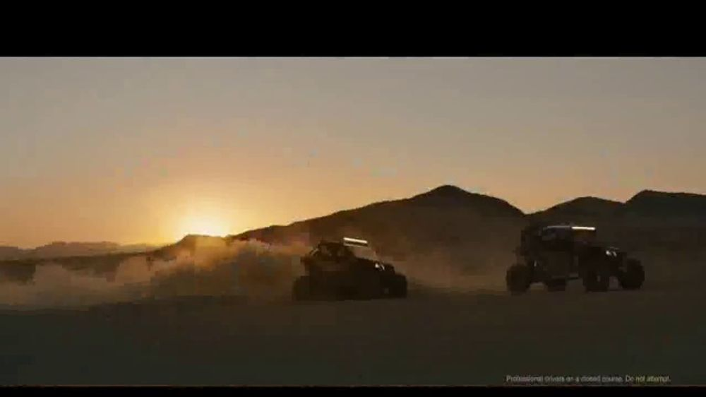 Can-Am TV Commercial, 'Friendly Trash Talk'