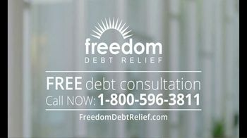 Freedom Debt Relief TV Spot, 'Get Out of Debt' - Thumbnail 5