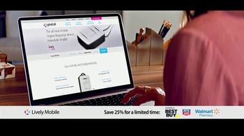 GreatCall Lively Mobile TV Spot, 'Mom Volunteers: 25 Percent Off' - Thumbnail 3