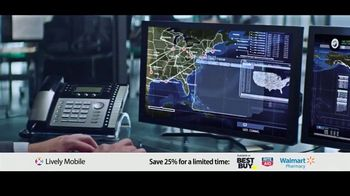 GreatCall Lively Mobile TV Spot, 'Mom Volunteers: 25 Percent Off' - Thumbnail 6
