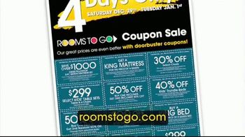 Rooms to Go Coupon Sale TV Spot, 'New Year's Day' - Thumbnail 3
