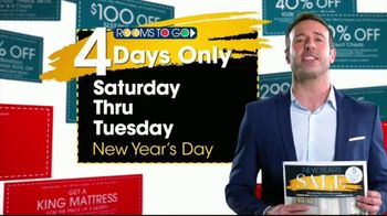 Rooms to Go Coupon Sale TV Spot, 'New Year's Day' - Thumbnail 9