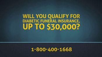 Senior Legacy Life Diabetic Funeral Insurance TV Spot, 'Type-Two Diabetes' - Thumbnail 6