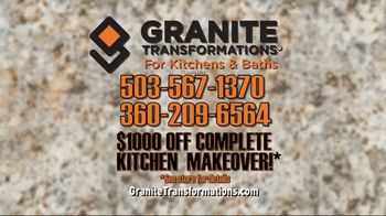 Granite Transformations TV Spot, 'Complete Kitchen Makeover' Featuring Bill Schonely - Thumbnail 7