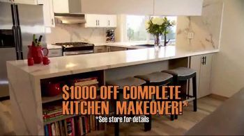 Granite Transformations TV Spot, 'Complete Kitchen Makeover' Featuring Bill Schonely - Thumbnail 2