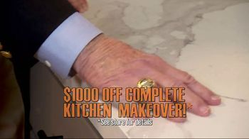 Granite Transformations TV Spot, 'Complete Kitchen Makeover' Featuring Bill Schonely - Thumbnail 3