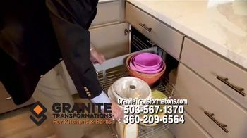 Granite Transformations TV Spot, 'Complete Kitchen Makeover' Featuring Bill Schonely - Thumbnail 4