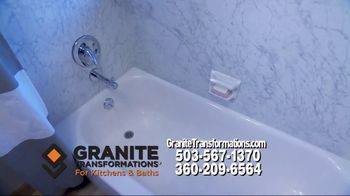 Granite Transformations TV Spot, 'Complete Kitchen Makeover' Featuring Bill Schonely - Thumbnail 5