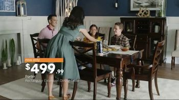 Ashley HomeStore New Year's Sale TV Spot, 'Porter Table and Borlend Bed' - Thumbnail 4