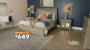 Ashley HomeStore New Year's Sale TV Spot, 'Porter Table and Borlend Bed' - Thumbnail 5