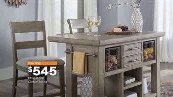 Ashley HomeStore New Year's Sale TV Spot, 'Sofa, Island and Bed' Song by Midnight Riot - Thumbnail 6