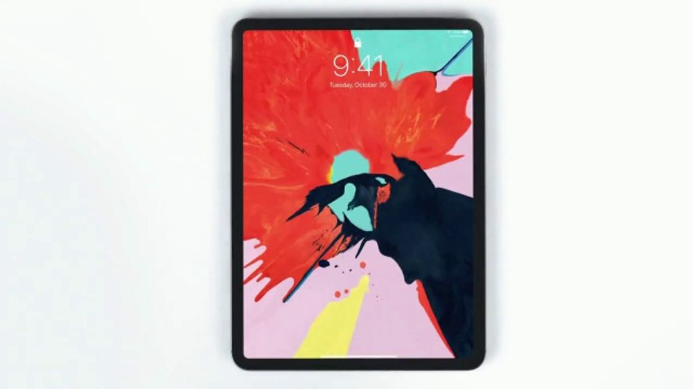 app used in ipad pro commercial