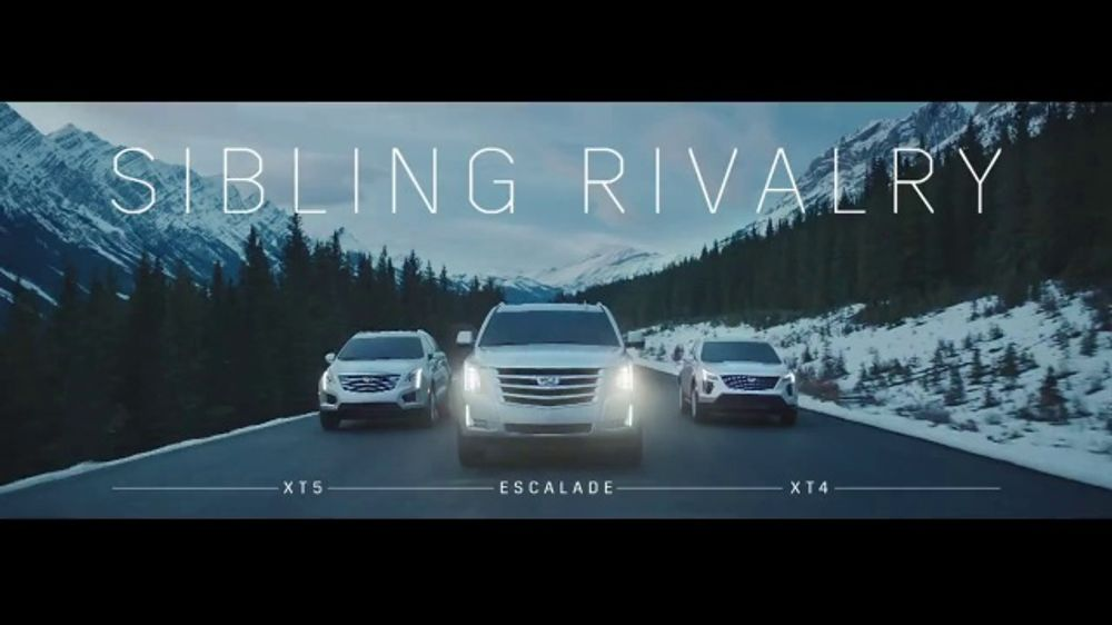 Cadillac Season S Best Sales Event Tv Commercial Sibling Rivalry