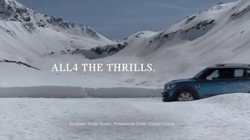 MINI Countryman TV Spot, 'ALL4' [T2] - Thumbnail 3