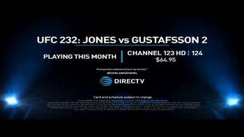 UFC 232 TV Spot, 'Jones vs. Gustafsson 2: Rematch' - Thumbnail 10