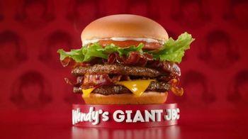 Wendy's Giant Jr. Bacon Cheeseburger Meal TV Spot, 'Disfruta más en Wendy's' [Spanish]