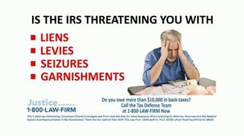 1-800-LAW-FIRM TV Spot, 'Tax Defense Team' - Thumbnail 3